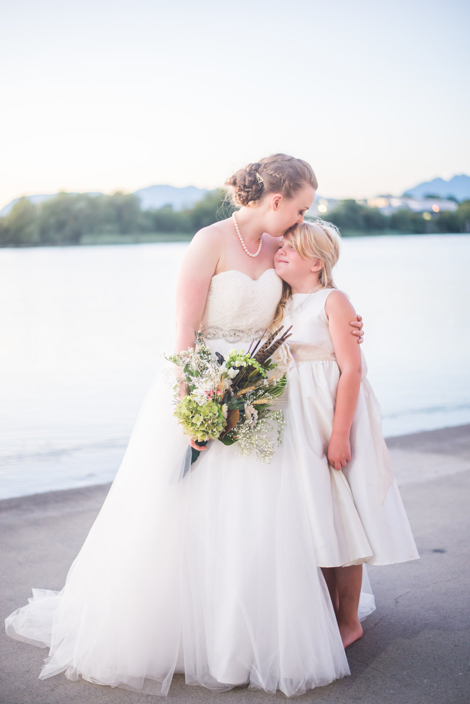 ELEKTRA &SAMUEL - A mid-summer wedding by the   Fraser river