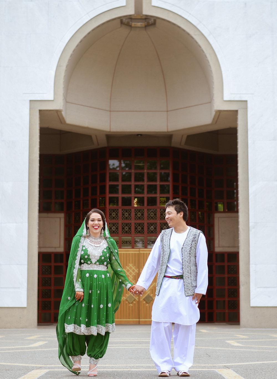 FRISHTA &ALI - Traditional Afghan wedding in the summertime