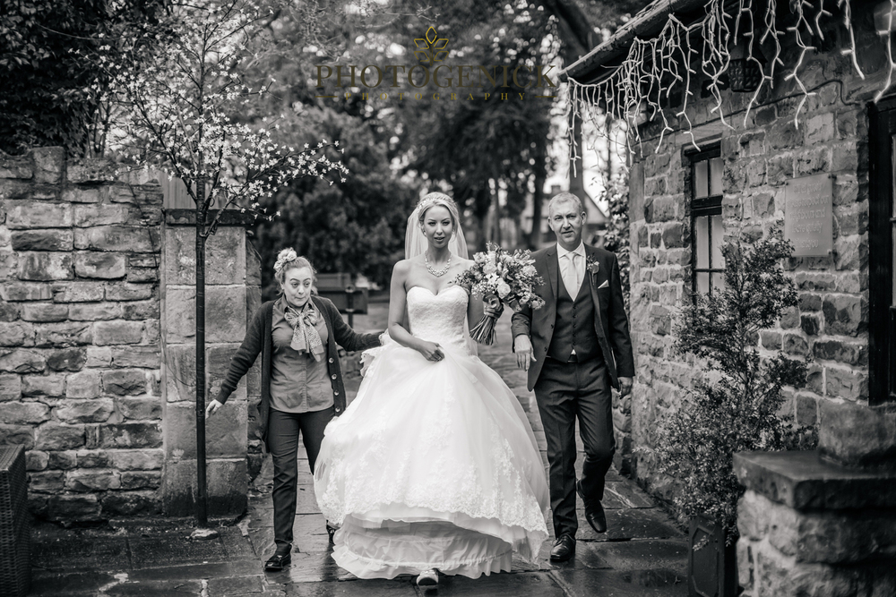 quirky wedding photography mosborough hall sheffield
