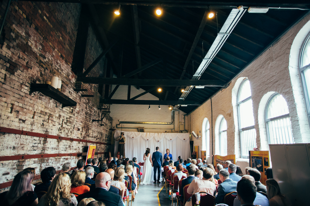 industrial style wedding photography sheffield