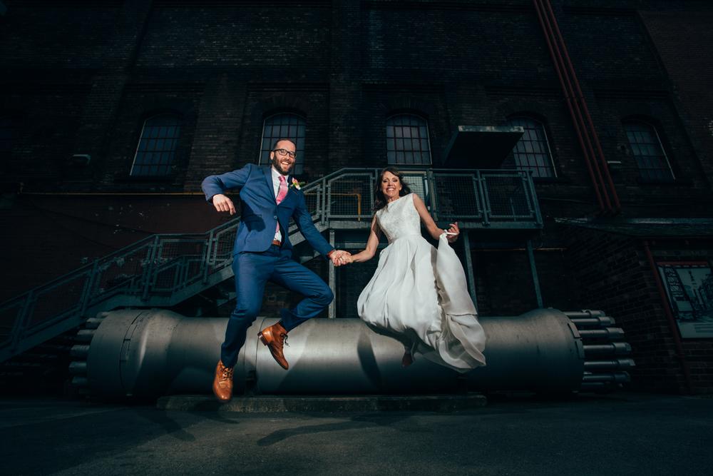 fun wedding photography sheffield