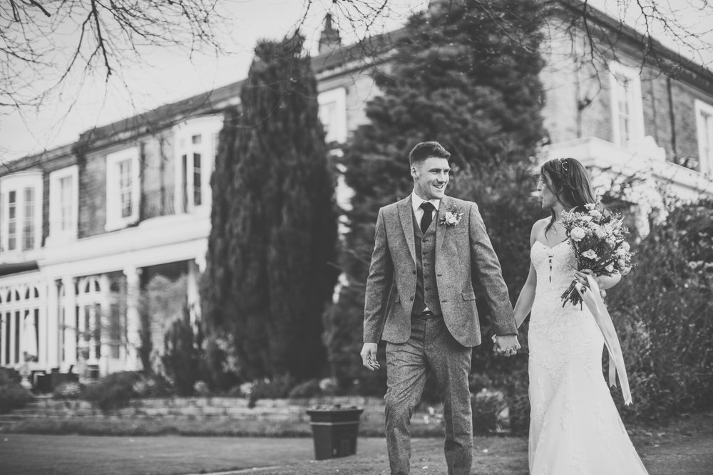 wedding photography ringwood hall chesterfield