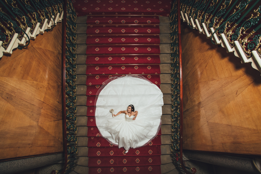 quirky wedding photography cutlers hall sheffield