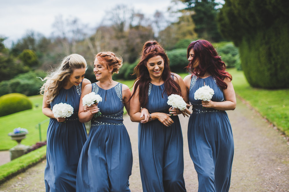 stylish wedding photography wortley hall sheffield