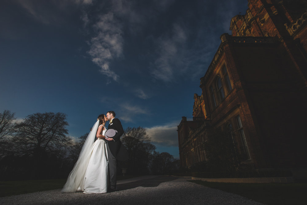 doncaster rossington hall wedding photography venue