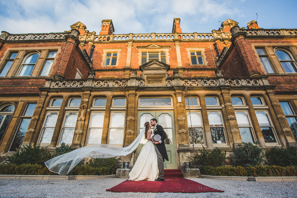cheap rossington hall wedding photographer doncaster