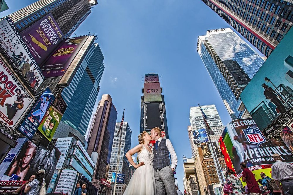 New York destination wedding photographers