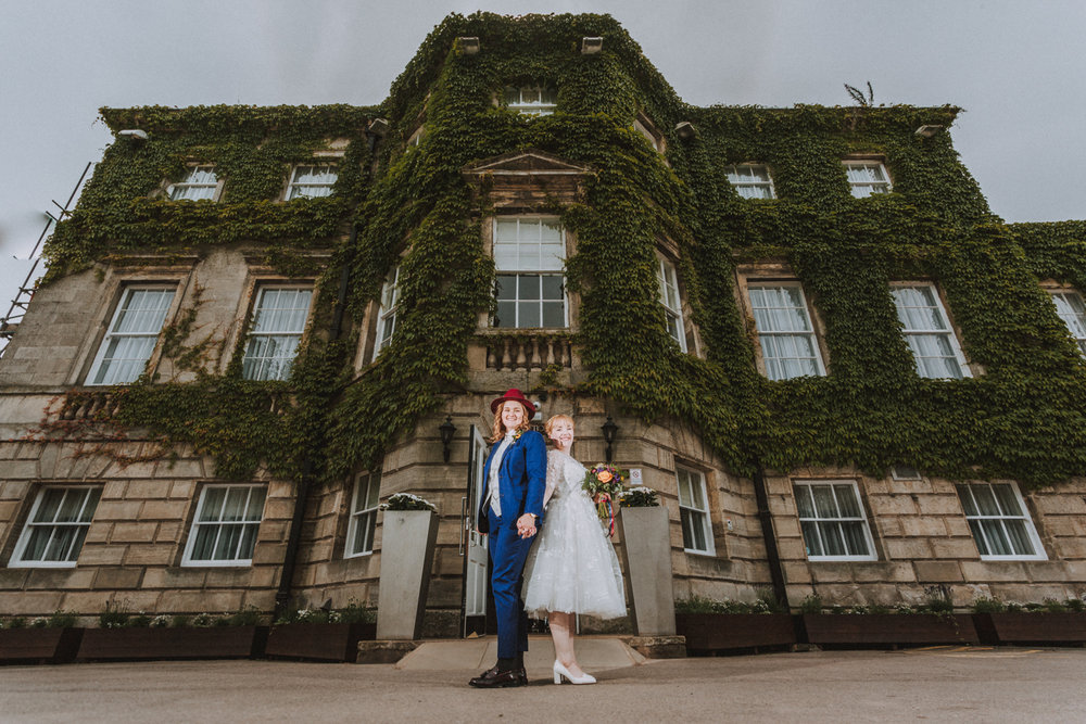 Aston hall Sheffield wedding photographers