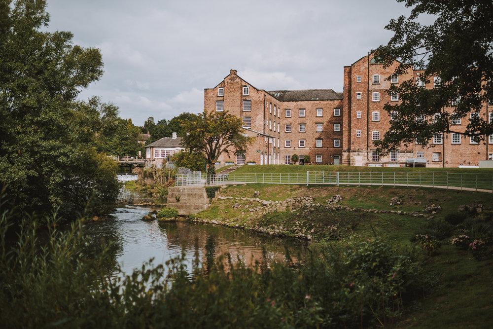 best west mill wedding photographers Derbyshire