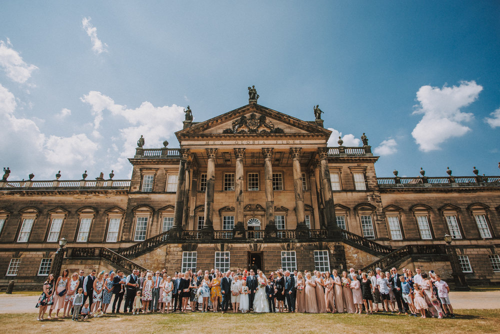fun wentworth woodhouse venue wedding photographers