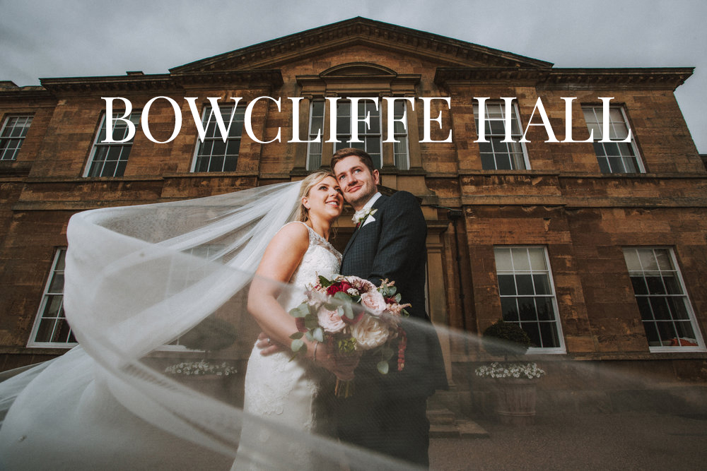 BOWCLIFFE HALL YORKSHIRE WEDDING VENUE