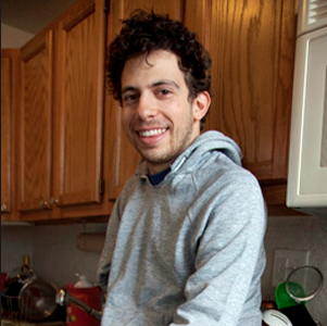 JJ, in the kitchen