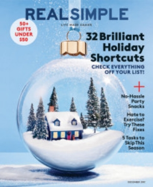 Real Simple Magazine- 4 December Cookbooks We Love