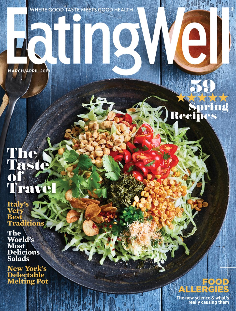 "EatingWell Magazine - March/April 2018, ""Have Apron, Will Travel"""
