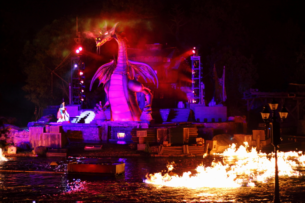 Fantasmic! Disneyland Resort