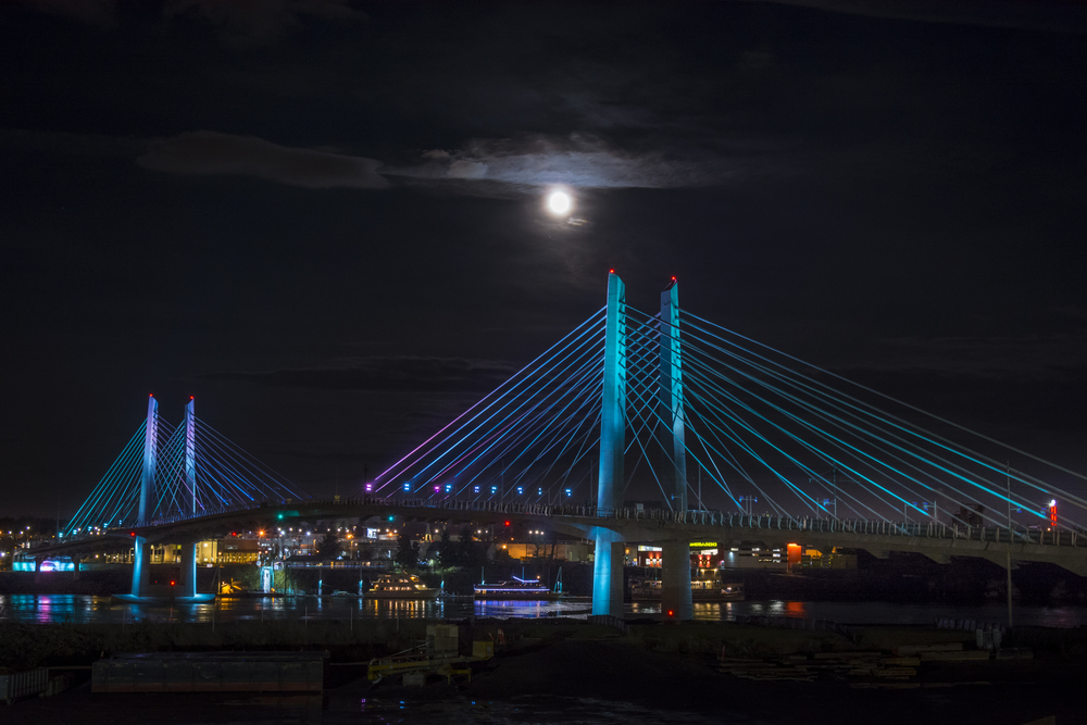 Tilikum Crossing-Portland TriMet