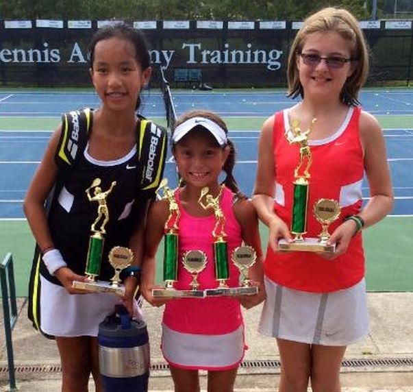 Serve&Return™ Scholars won multiple titles at the recent Fair Oaks Junior Championships.