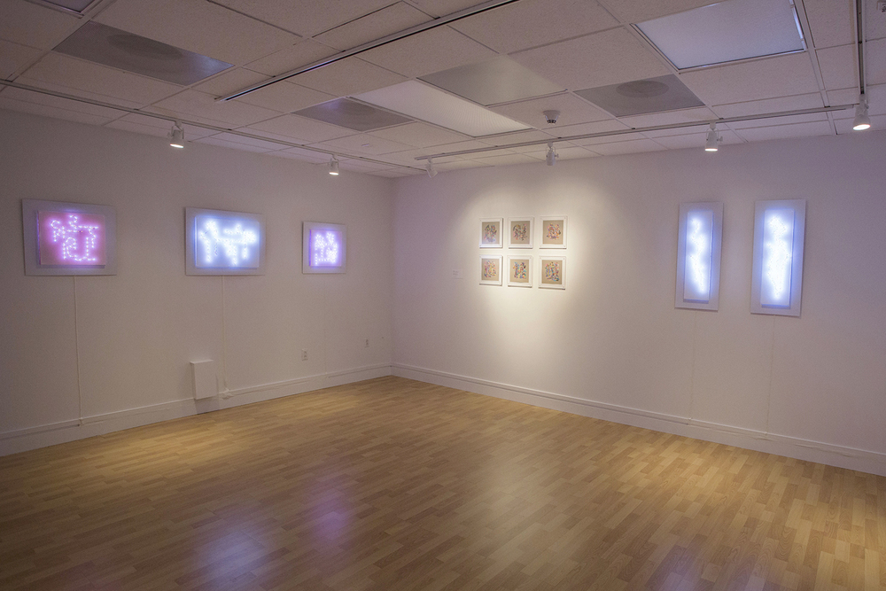 Salmanson's exhibition at Visual Arts Center of NJ