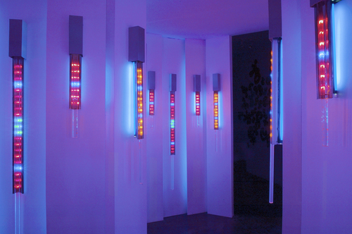 Luminous Layers at  Dam, Stulhtrager Gallery (2005)