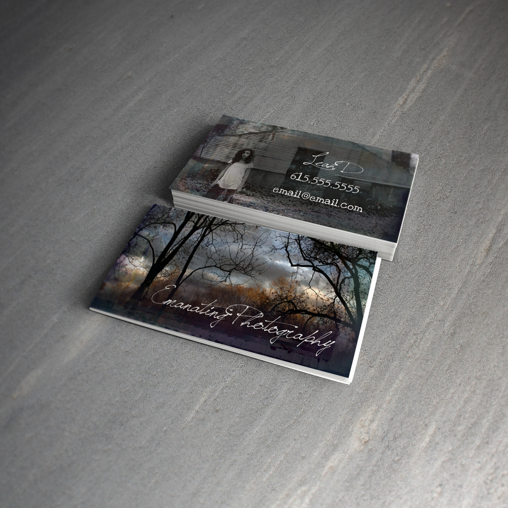 Emanating photography business cards frequency design fd emanatingg magicingreecefo Gallery