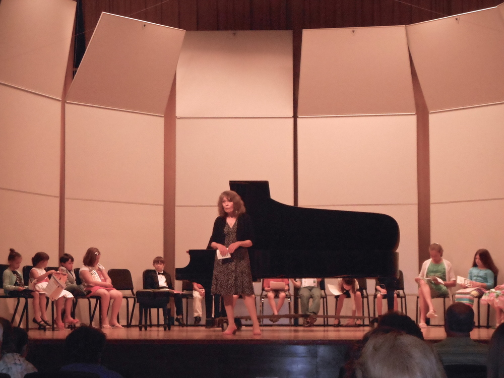 May 2013, Diers Recital Hall