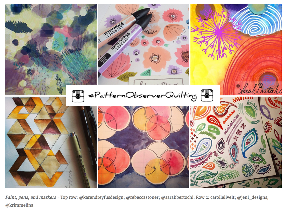 Pattern Observer - Instagram Challenge March 2015