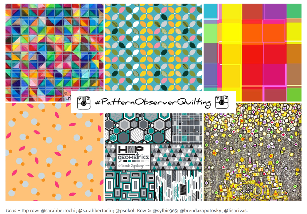 Pattern Observer - Instagram Challenge, March 2015