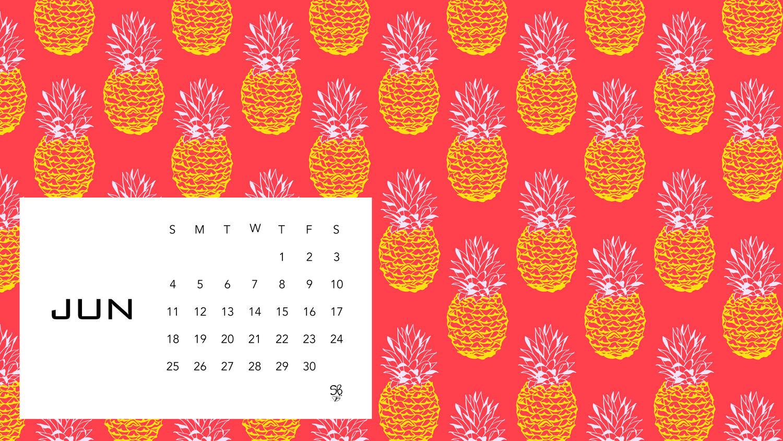 Desktop Wallpaper - June — Sarah B