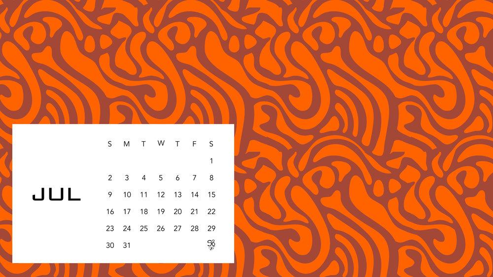 Desktop Wallpaper - July — Sarah B