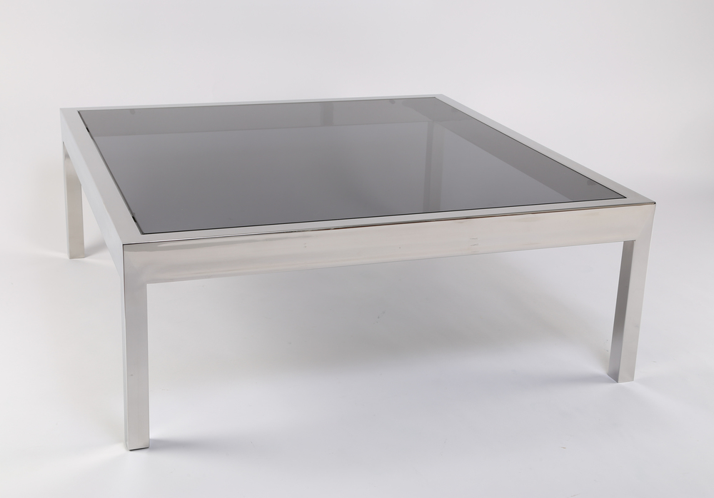 Pace Smoked Coffee Table 0947