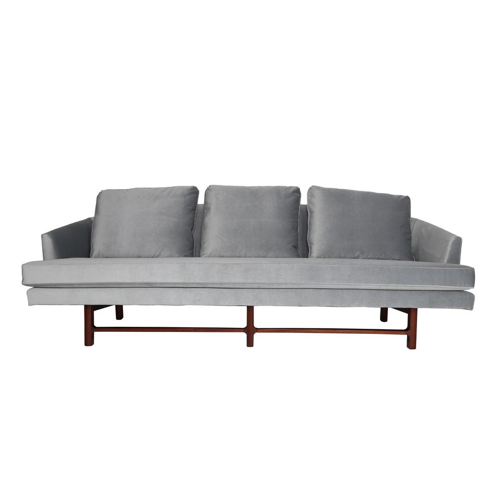 1950s Edward Wormley For Dunbar Curved Back Sofa