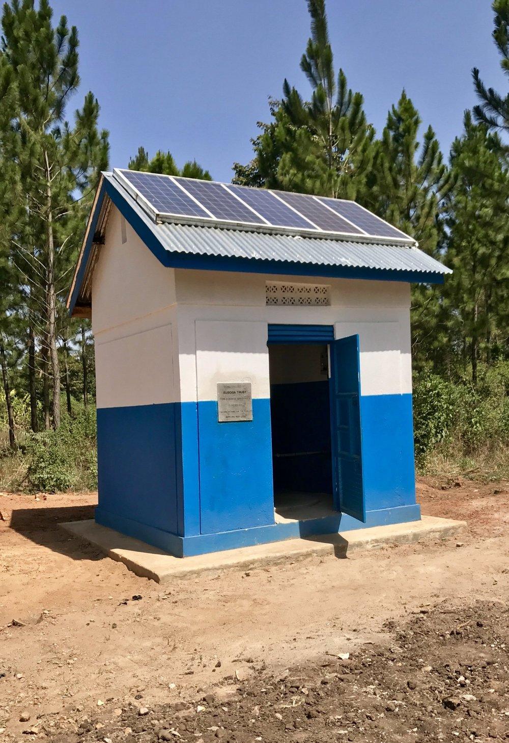 Pump House, solar powered