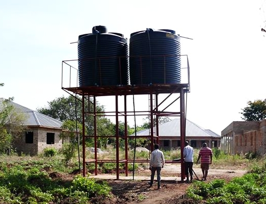New water Well Storage Tanks