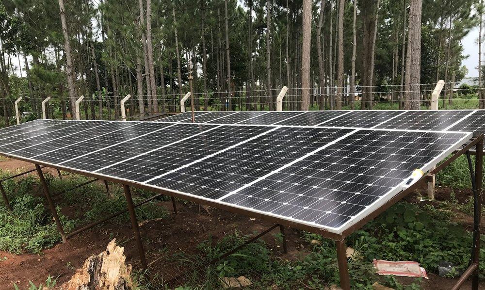 Solar Array & Perimeter Fence