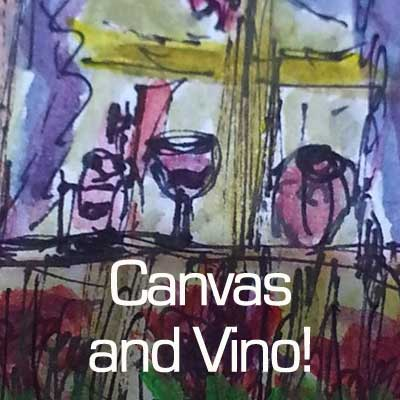 Canvas and Vino Art Parties with Audrey Franc