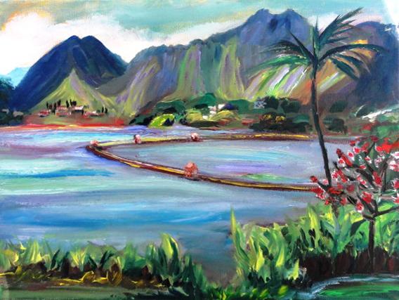 Kaneohe Pond-Adriana Franc.JPG