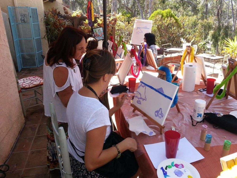 Art Partiesand Half-Day Trips -