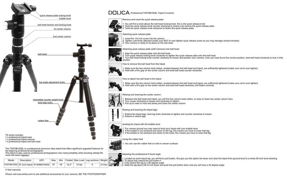 TX570B150SL Manual