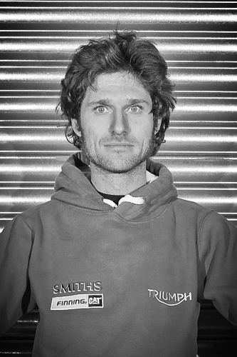 Guy Martin - Guy Martin Racing   Guy Martin is an accomplished British motorcycle road racer, adventure seeker, TV personality and mechanic. He is known for competing in the acclaimed Isle of Man TT, Ulster Grand Prix and North West 200. Riding a Smiths Racing Triumph Daytona 675R during the 2015 Isle of Man TT races, Guy completed the event with 3rd and 5th place finishes. No stranger to speed, Guy is relishing in the prospect of bringing the FIM world land speed record back to Triumph – and the UK – after an absence of 45 years. Follow Guy's journey as he attempts to break the land speed record at www.GuyMartinRacing.co.uk.