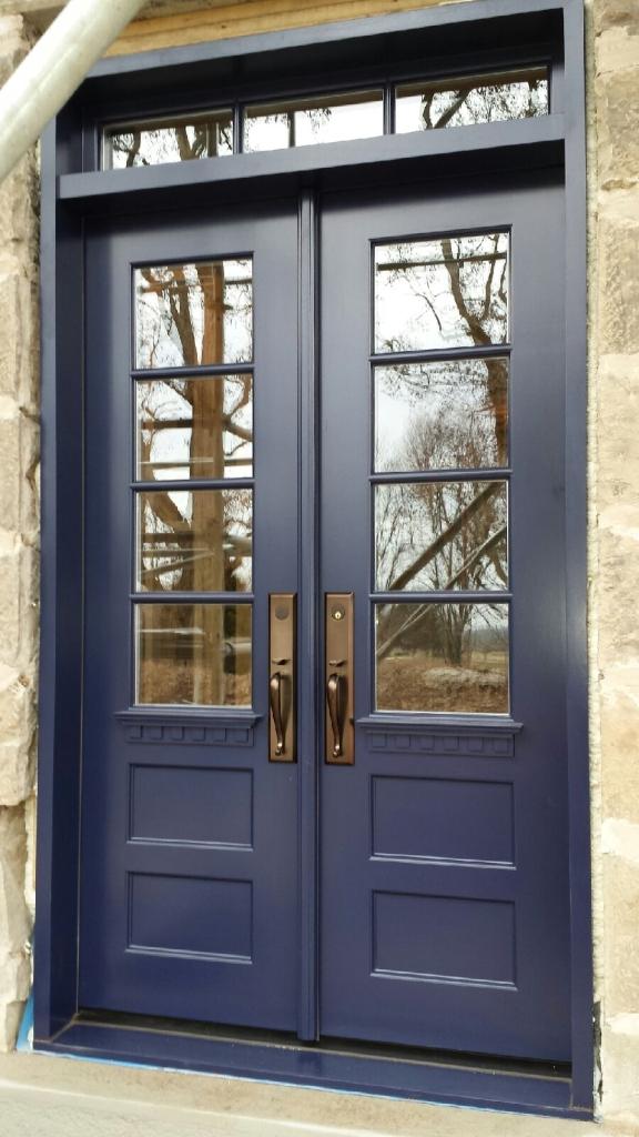 New front door- Amberwood  http://amberwooddoors.com/