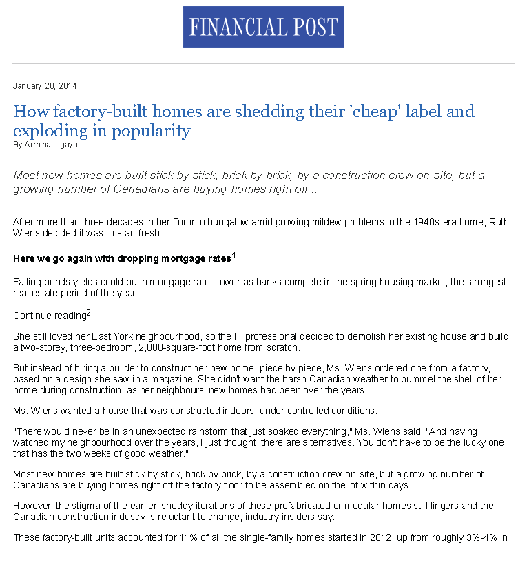 Financial Post- How factory-built homes are shedding their 'cheap' label and exploding in popularity_Page_1.png