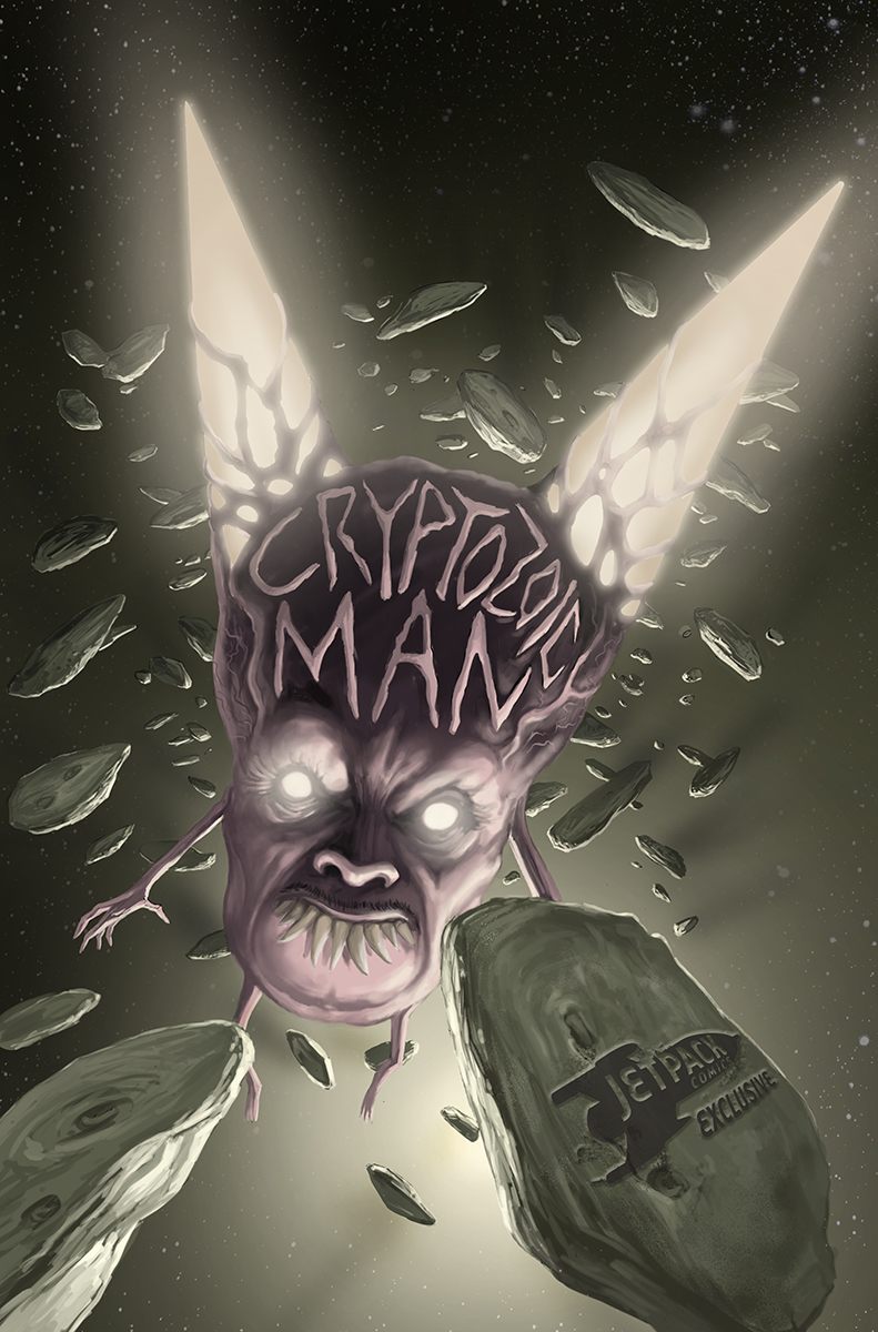 Cryptozoic Man variant cover 8