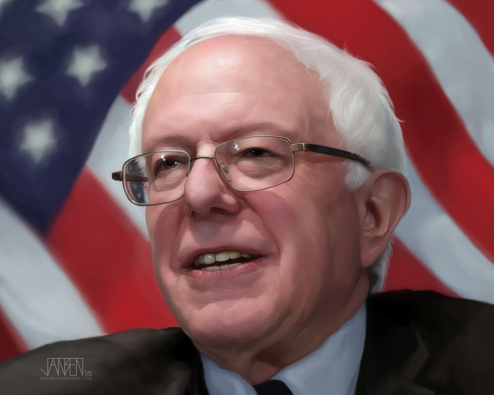 Portrait of a Bernie