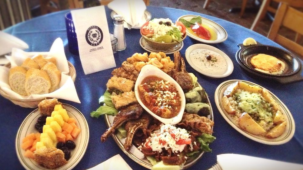 It's time to treat yourself Olympia Style this weekend... Try out platter for a taste of the gods right here on River Street.