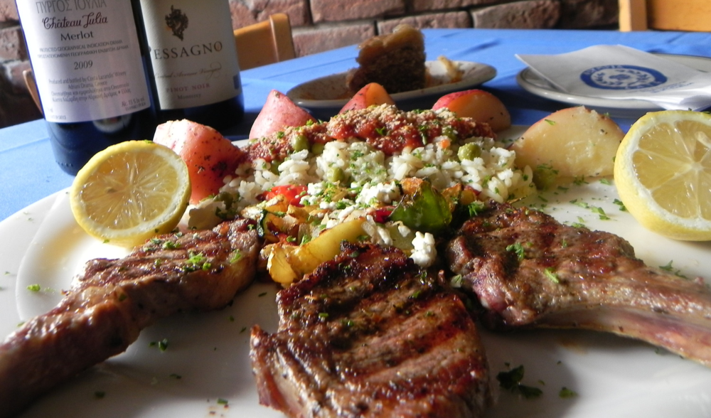 Our lamb chops are marinated and grilled to perfection every time... Come taste on of Olympia's signature dishes this weekend!