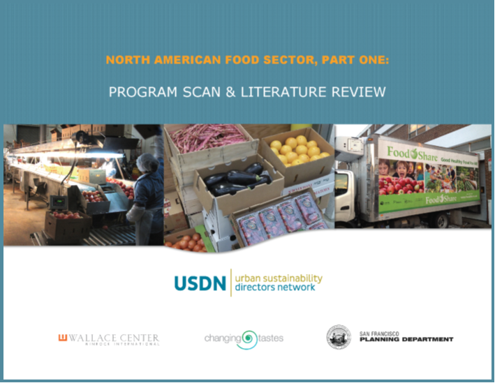 City Food Scan Literature Review