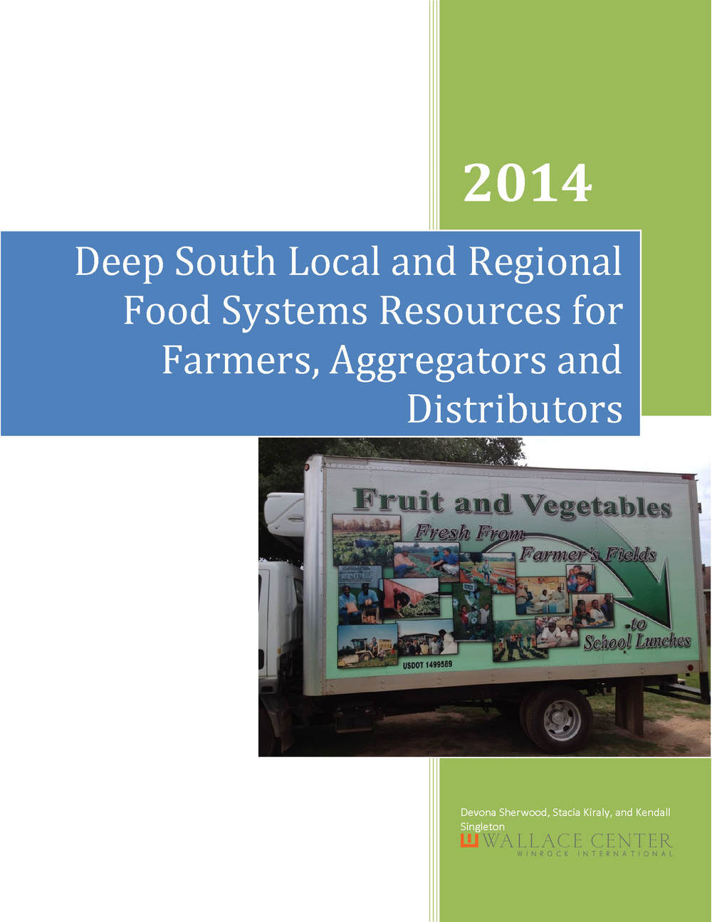 Deep South Local and Regional Food Systems Resources Handbook