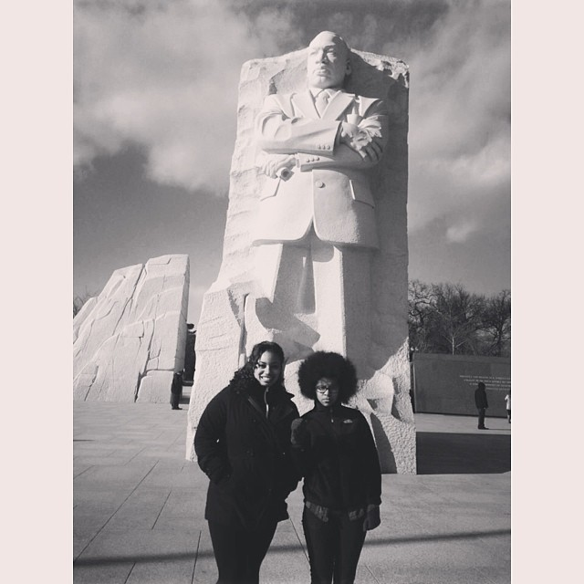 "uhitsveronica :     all we say to america is, ""be true to what you said on paper"" -MLKJr"