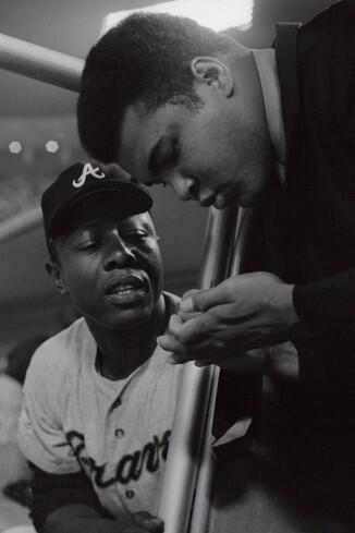 theurbanmoor: Legends: Willie Mays & Muhammad Ali
