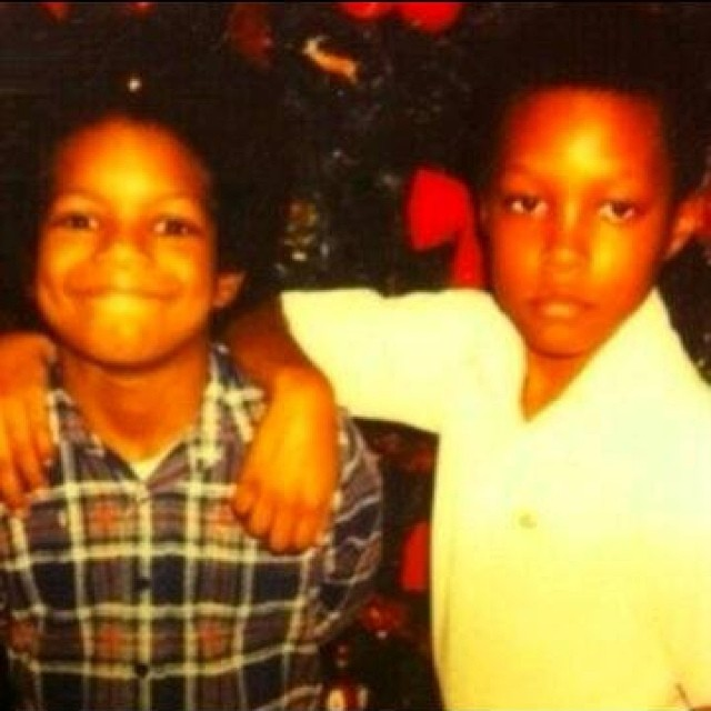 DJ Paul & Lord Infamous as children … #Three6Mafia #JuicyJ #DJPaul #GangstaBoo #LordInfamous #ProjectPat #RIPLordInfamous #CrunchyBlack #KoopstaKnicca #Memphis #BackyardPosse #HardOutHereForAPimp #StayTrippy #StayFly Go to hiphopsmithsonian.com to experience their digital bio & the rest of the #DirtySouth collection!